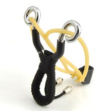 Outdoor Pocket Size Zinc Alloy Slingshot Catapult Hunting Bait Casting Fishing Tackle Tool Free Shipping