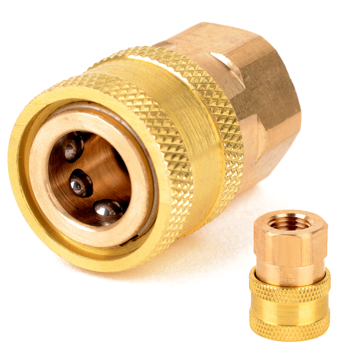 1pc New Durable 58 Type 1/4 Female NPT Brass Quick Connect Coupler Pipe Thread Adapter for Pressure Washer Mayitr 40mm*15mm зимняя шина nokian hakkapeliitta r2 245 40 r20 99r