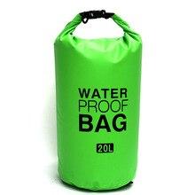 10L Waterproof Bag Ultralight Outdoor 3 Colors Men Women Ocean Pack Drifting Package Swimming Bag Dry Bag