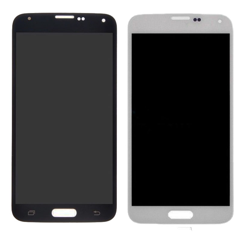 For <font><b>Samsung</b></font> S5 <font><b>G900F</b></font> <font><b>Display</b></font> LCD Screen Touch Digitizer Assembly Replacement Compatible for <font><b>Samsung</b></font> Galaxy S5 G900 <font><b>G900F</b></font> LCD image