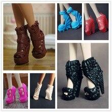 d395dfb6 Original muñeca zapatos/zapatos de diferentes estilos de moda moderna de  tacón alto sandalias accesorios
