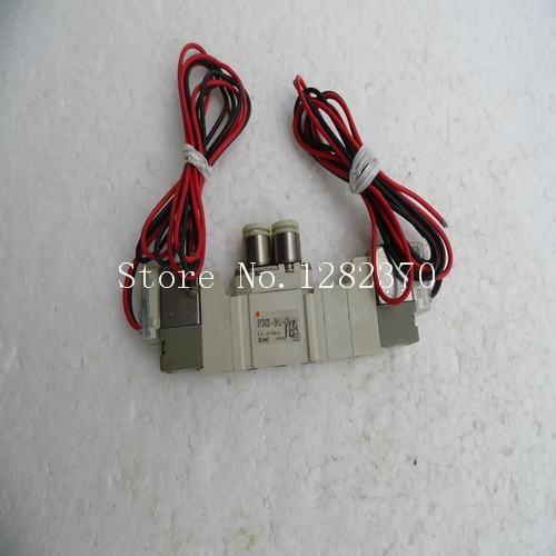 ФОТО [SA] New Japan genuine original SMC solenoid valve SY3420-5HU-C6 spot --2PCS/LOT