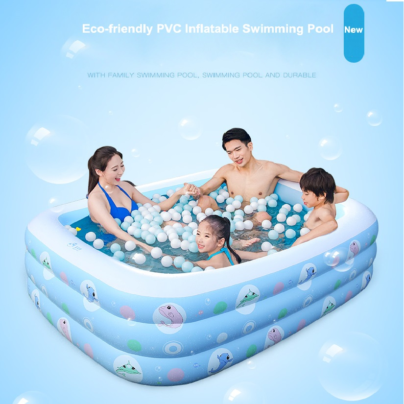 Novelty Bright Color Pool Floating Chair baby child eco-friendly PVC swimming pool wholesales 1.2M-2.0M inflatable padded bottom