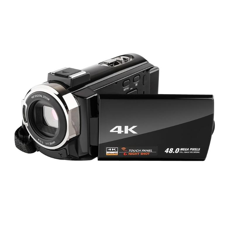 DV23 4 K 3 pouces IPS écran tactile 5MP 16X Zoom numérique caméra caméscope WIFI