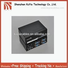 Бесплатная доставка + Высокое качество 4 порта 350 мГц VGA ЖК-дисплей crt проектор видео Мониторы сплиттер с аудио разъем