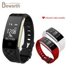 Водонепроницаемый Смарт-Браслет Heart Rate Monitor Спортивные Смарт-Группы Фитнес-Трекер S2 Bluetooth Браслет для Android iOS Телефон