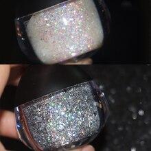 UCANBE бренд блеск для лица тела паста Крем Макияж мерцающий золотистый, серебристый, цвета алмаза хайлайтер гель краска для волос косметический набор для вечерние