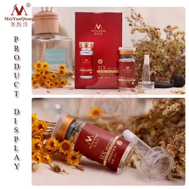 Argireline+aloe vera+collagen peptides rejuvenation anti wrinkle Serum for the face skin care products anti-aging cream