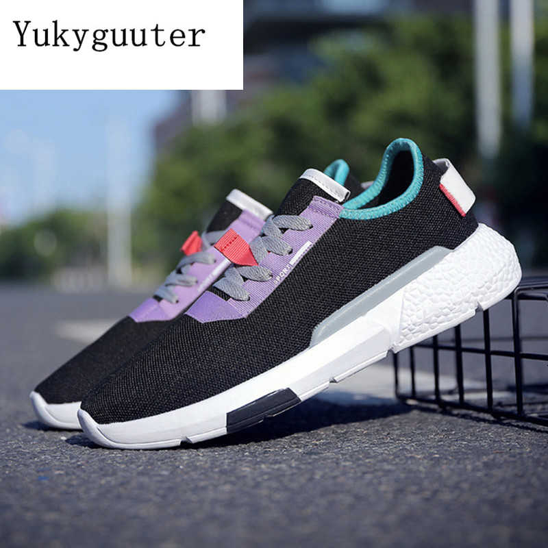 Men Skateboarding Shoes Canvas Sport 2018 Cool Light Weight Sneakers Outdoor Athletic Shoes Man Breathable High Quality Shoes Skateboarding     - title=