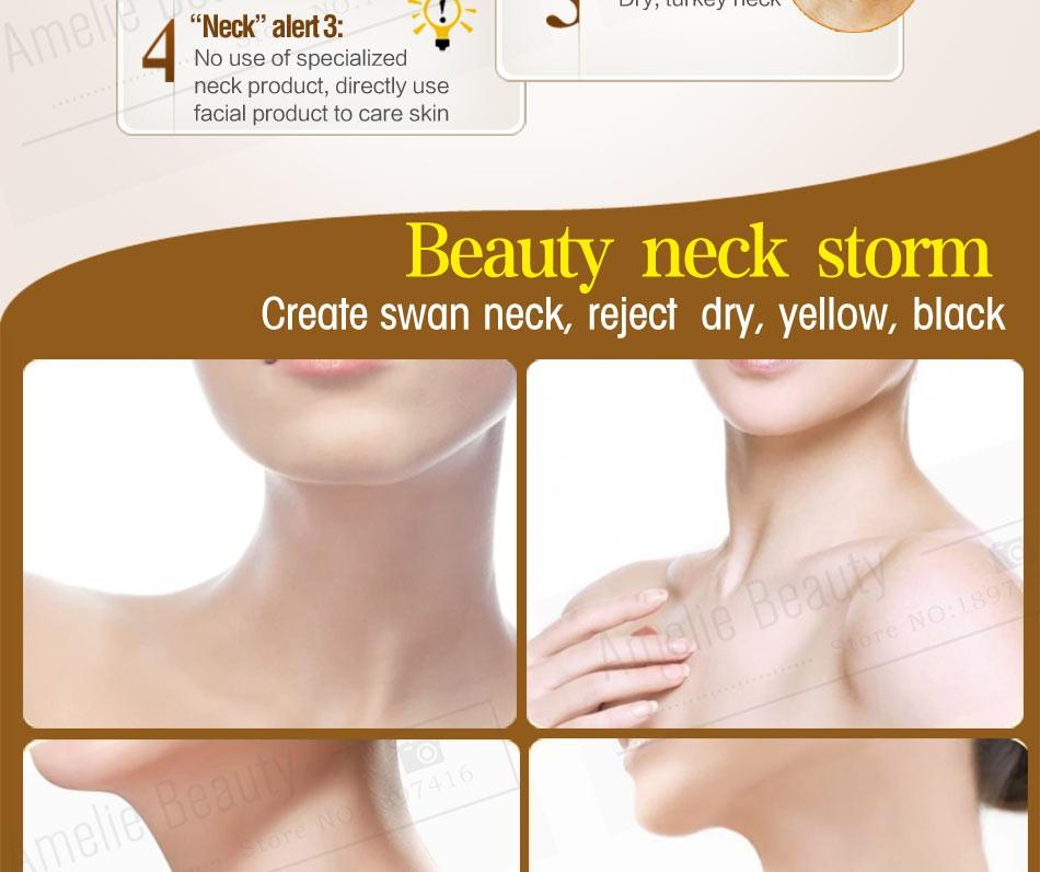 MEIKING Neck Cream Skin Care Anti wrinkle Whitening Moisturizing Firming Neck Care 100g Skincare Health Neck Cream For Women 7