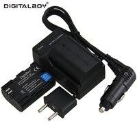 Digitalboy 2650mAh LP E6 2pcs Battery Charger LP E6 LPE6 For Canon EOS 5DS 5D Mark