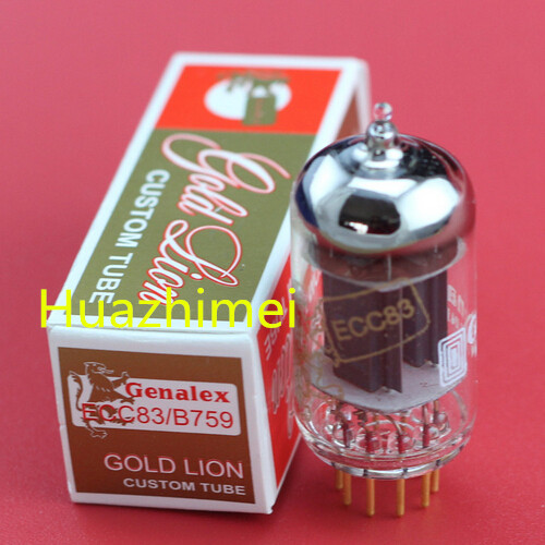 2PCS/LOT HIFI DIY Genalex  ECC83/B759 ECC83 B759 generation 12AX72PCS/LOT HIFI DIY Genalex  ECC83/B759 ECC83 B759 generation 12AX7