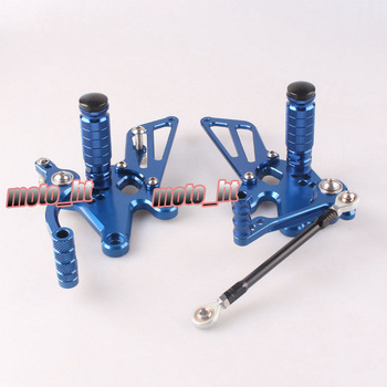 GZYF Motorcycle Adjustable Rearset Rear Set Footpegs Foot Rest Pegs For Kawasaki Ninja 250R EX250J 2008 2009 2010 2011 2012