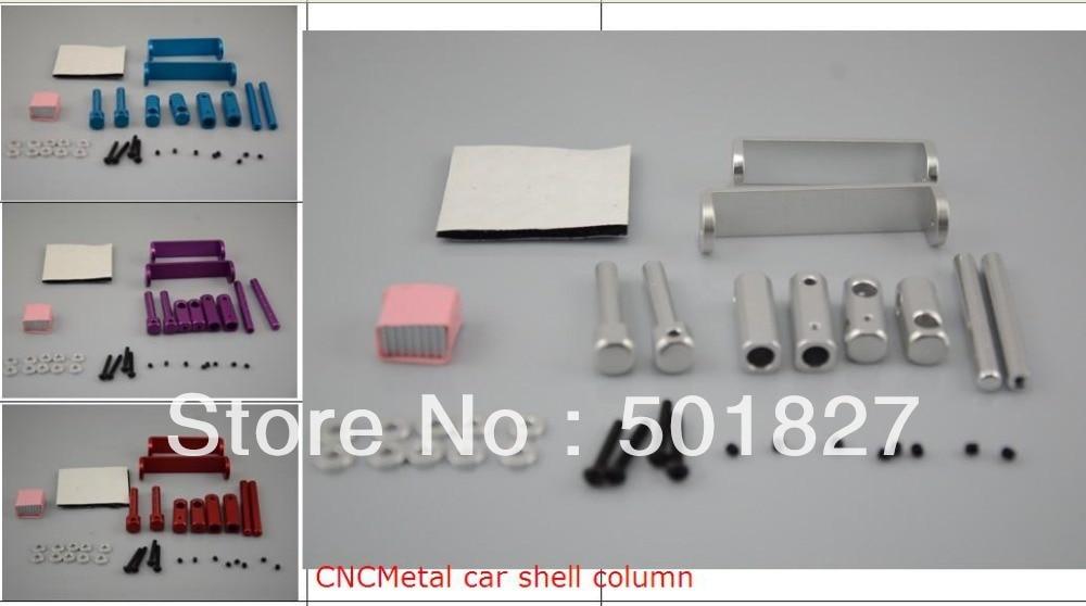 цены  YUKALA CNC Aluminum alloy car shell body column/body post for 1:10 RC car free shipping