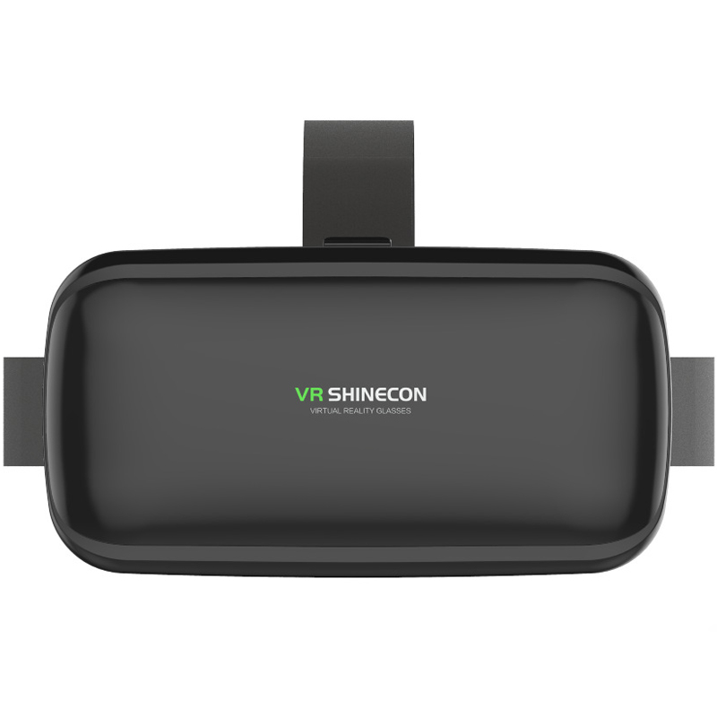 Original VR shinecon 6.0 headset version virtual reality glasses 3D glasses headset helmets smartphone Full package + controller 3