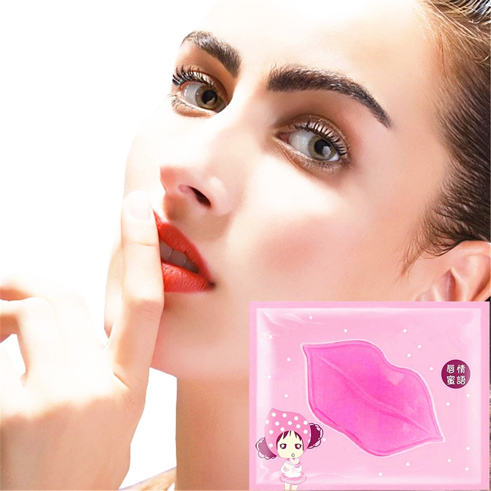 New Arrival Lip Mask 1 Bag Vitamin Nourishing Labial Moisten Patches For Lips Care 5 Times Nourishing Effect