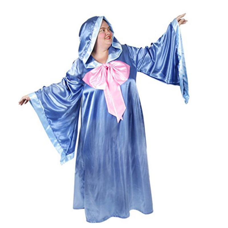 Womens Fairy Godmother Costume Lady's Halloween Fun Costume