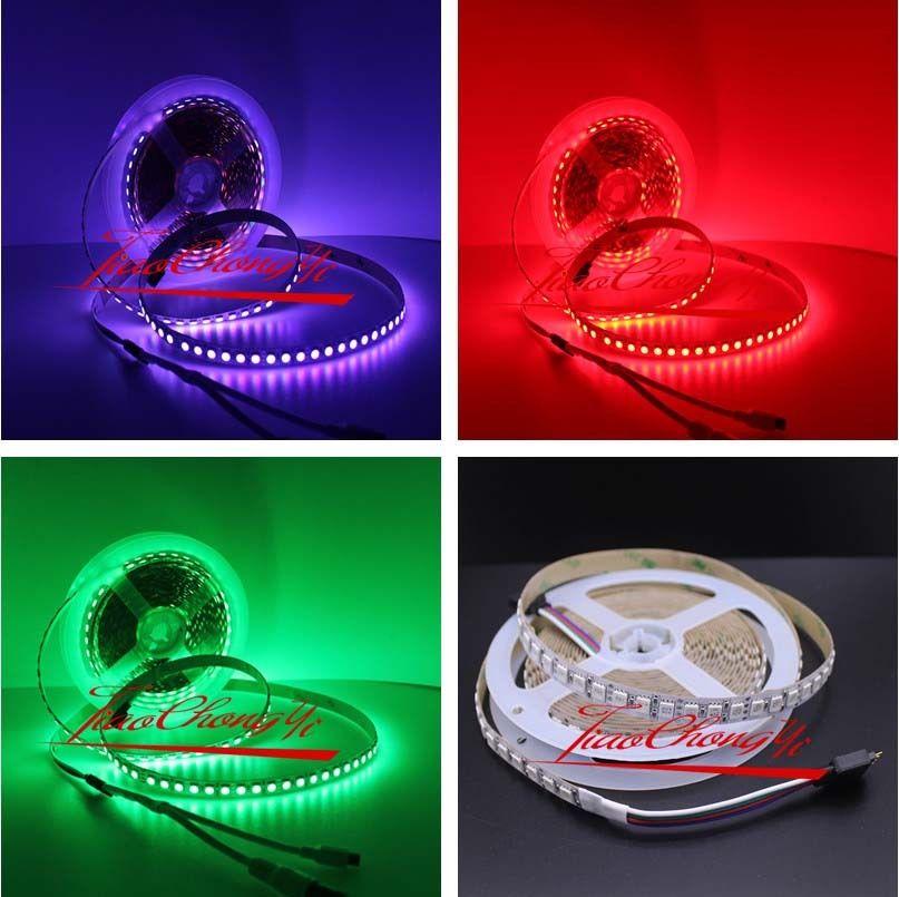 DC12V 5M 5050 RGB LED 600LED Strip light Flexible Light non waterproof IP20