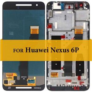Image 2 - ネクサス 6 液晶画面表示 5.7 インチ新交換スクリーンデジタイザ用のタッチスクリーンアセンブリとネクサス 6P