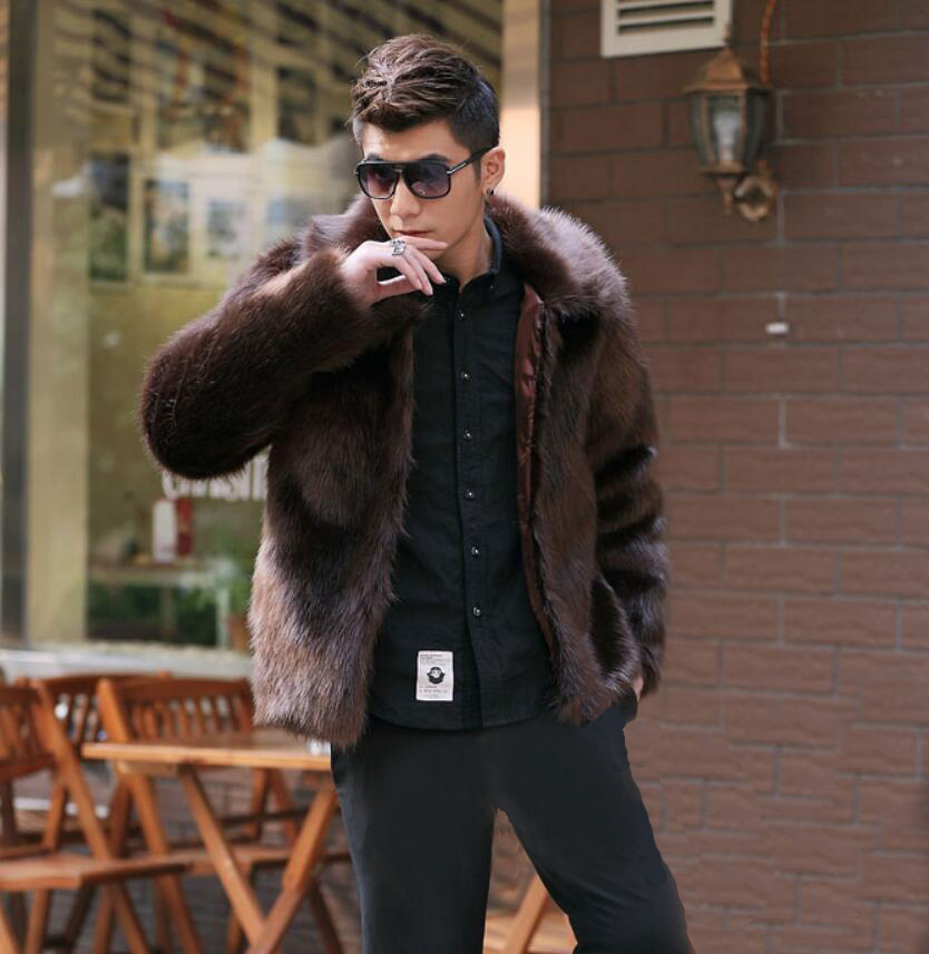Online Get Cheap Mens Faux Fur Coats -Aliexpress.com | Alibaba Group