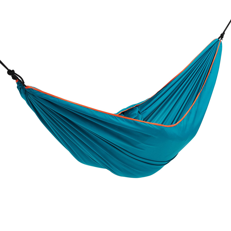 Outdoor Leisure Oxford Cloth Hammock Camping Hunting Single Double Hammock Portable Furniture Garden Swing Soft Bed Picnic Mat outdoor leisure hammock shade cloth canopy waterproof hammock sun shade rain portable outdoor camping picnic mat double gift