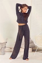 цены Hoodie Lacing Casual Sweater with loose pants 2 piece Suit