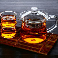 handmade glass teapot Multifunction integrated teapots add four kung fu cups