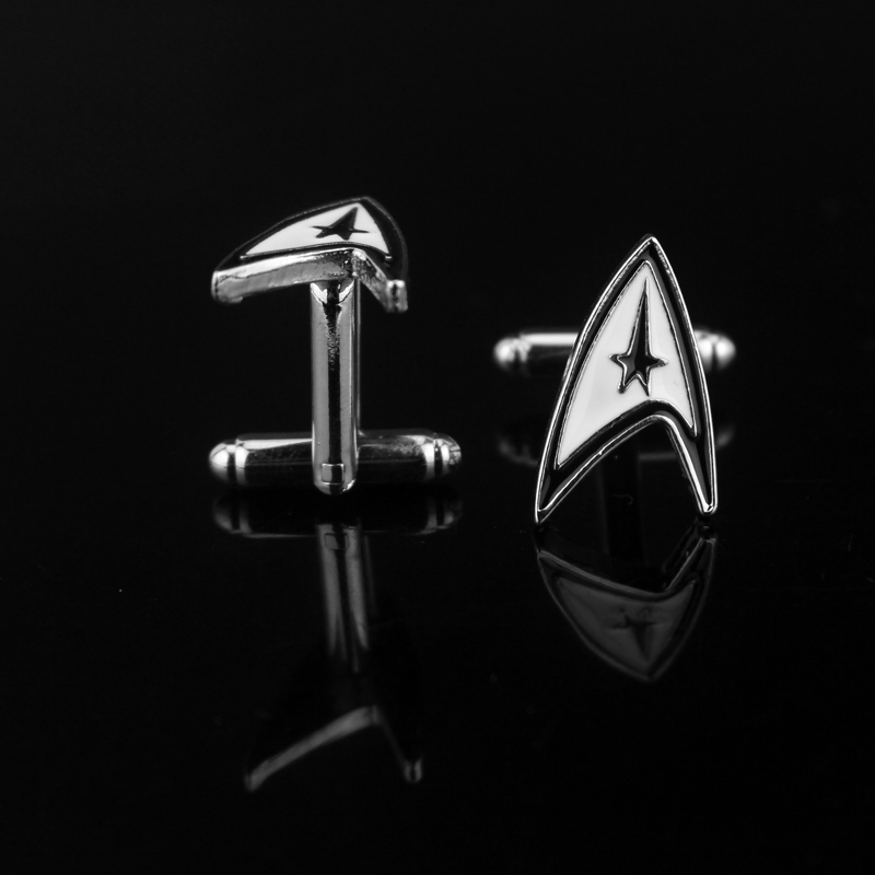 Saying Quotes About Sadness: High Quality Polished Luxury Star Trek TV Show Cufflinks