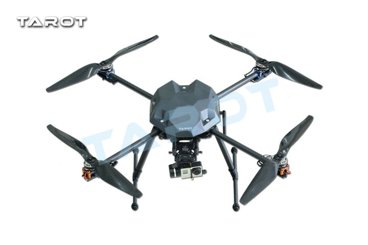 Tarot XS690 TL69A01 Sport Quadcopter with Metal Electric Retractable Landing Gear Skid kit TL8X002 Controller