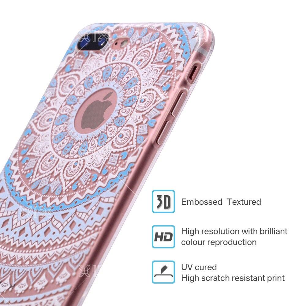 a8e924bb47a For Funda Iphone X Case 5 5S 6 6S 7 Plus X XS Max XR Mandala ...