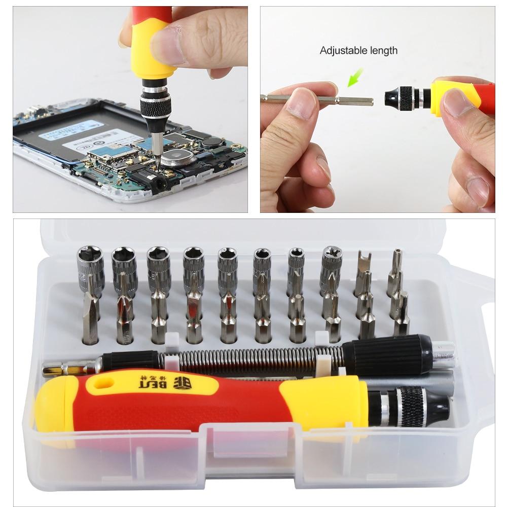 33 in 1 Set di cacciaviti intercambiabili Kit di cacciaviti magnetici - Utensili manuali - Fotografia 4