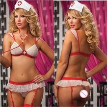 Nurse Uniform Sexy Cosplay Lingerie  School Uniform Sexy White Nurse Sexy Uniform Maid uniform Sexy play Costume все цены
