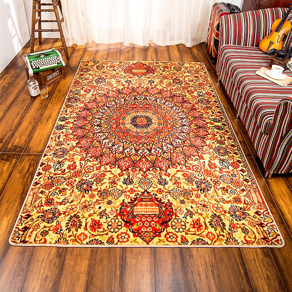 140x200cm Large Carpet Bohemia Style Living Room Bedroom Rugs Non-Slip Geometric Pattern Tea Table Rugs Home Decorator Floor Rug140x200cm Large Carpet Bohemia Style Living Room Bedroom Rugs Non-Slip Geometric Pattern Tea Table Rugs Home Decorator Floor Rug
