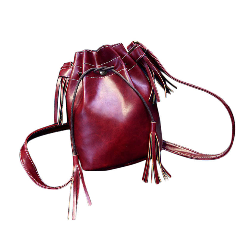 6 Styles 2015 New Fashion Girls Womens Shoulder Bag Tassel Messenger Hobo Bag Purse Satchel Free Shipping High Quality wholesale