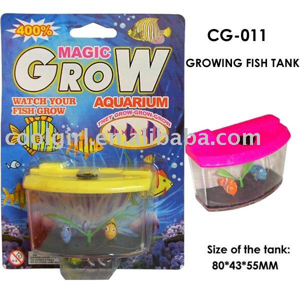 Expand toy growing animal toy toy fish tank in diecasts for Toy fish tank