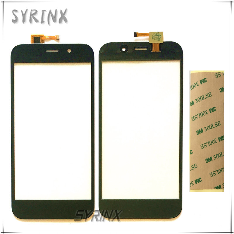 Syrinx With 3M Tape Mobile Phone Touch Panel For Fly FS527 Nimbus 17 Touch Screen Digitizer Front Glass Sensor Touchscreen