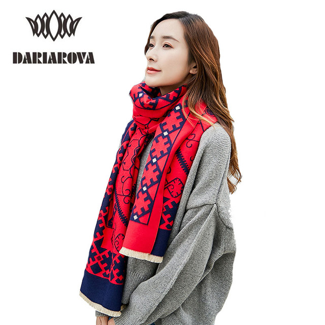 8ebe2a1b71a US $20.98 |Scarfs Winter Women's Cashmere Scarf Plaid Double Sided Fashion  Cachecol Thicken Warm Pashmina Wrap Cape Long Scarf Shawl Women-in Women's  ...