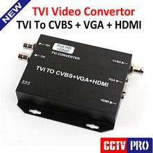 2016 Оригинал Новый HDTVI Video Converter TVI В HDMI/VGA/BNC (CVBS) Сигнал С 720 P/80 P 25/30 Гц США/ЕС/ВЕЛИКОБРИТАНИЯ/АС Plug Черный