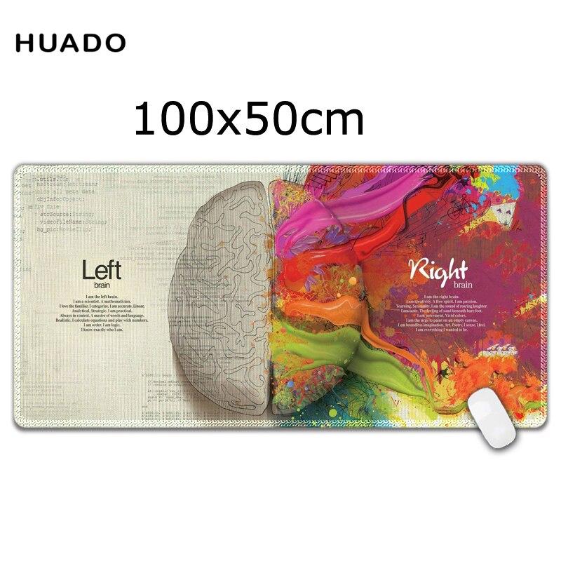 DIY Custom Rubber Mouse Pad gamer Mat Laptop Keyboard XL 1000x500mm