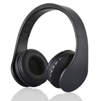 Bluetooth Headsets BTH 811 4 In 1 Over Ear Wireless Bluetooth Headset With Mic Support FM