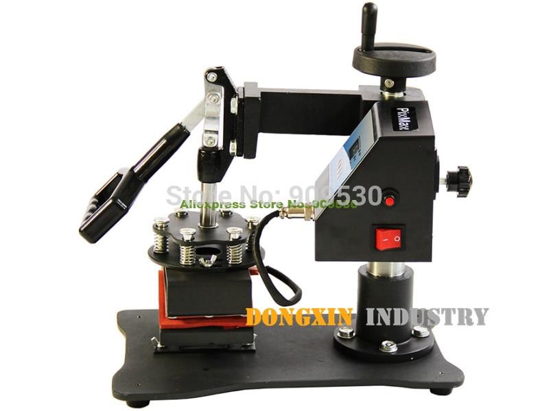 Printing transfer machine for hat cap