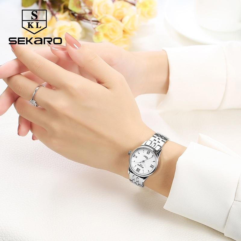 Sekaro mærke kvinders mekaniske ur luksus berømte automatiske watch - Dameure - Foto 3