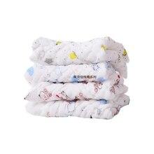 Комплект из 5 предметов с рисунком из мультфильма детские хлопчатобумажные носовые платки квадратный Карманный платок носовой платок с принтом Детские карманное полотенце 25*25 см