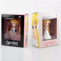 Usagi Tsukino Sailor Moon Princess Serenity PCV Action Figures Zabawki Kolekcje Model Lalki 15 cm