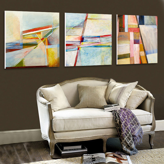 Wholesale abstract modern living room painting character bedroom ...