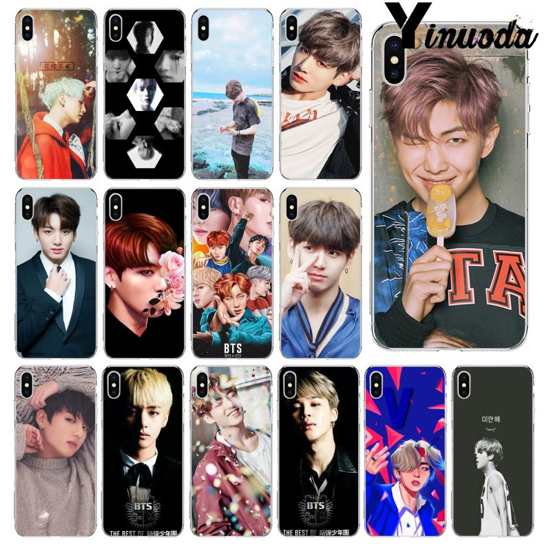 Phone Bags & Cases Adaptable Yinuoda Bts Band Bangtan Boys Transparent Tpu Soft Silicone Phone Cover For Iphone X Xs Max 6 6s 7 7plus 8 8plus 5 5s Xr To Enjoy High Reputation At Home And Abroad