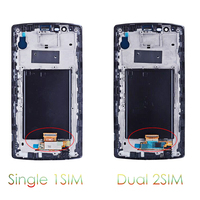 Sinbeda 100% Strict Test 5.5'' LCD Display For LG G4 H810 H811 H815 LCD Touch Digitizer Screen With Frame Complete Assembly