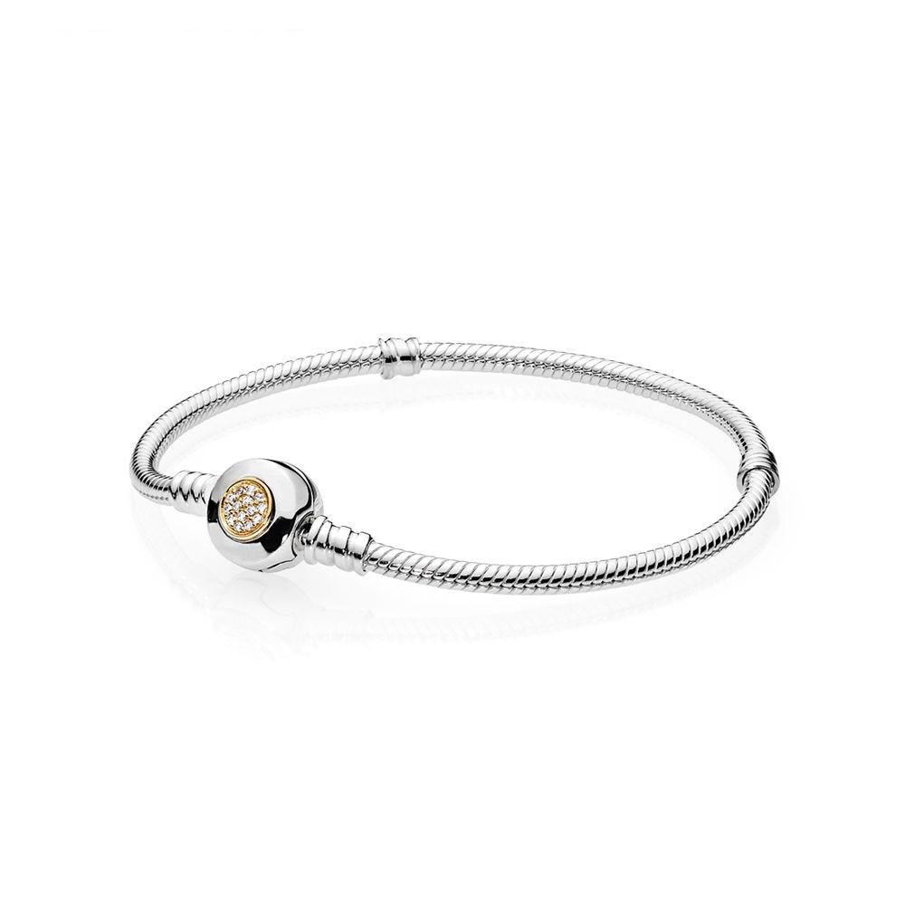 Mistletoe Genuine 925 Sterling Silver Nian Nian You Yu Two Tone Fish Charm Bead Fit European Bracelet Jewelry Beads Beads & Jewelry Making