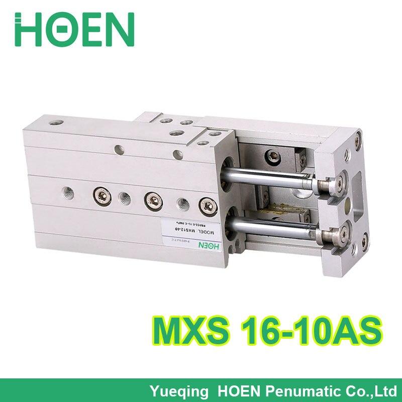 Здесь можно купить  MXS16-10 MXS series Cylinder MXS16-10AS AT A Air Slide Table Double Acting 16mm bore 10mm stroke Accept custom MXS16*10  Аппаратные средства