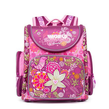 Russian Style Children School Bags for Girls Cartoon Butterf